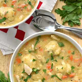Perfect Chicken & Dumplings.