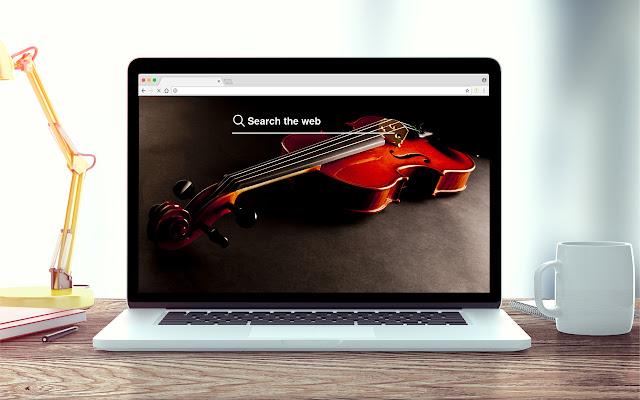 Violins New Tab Music Theme