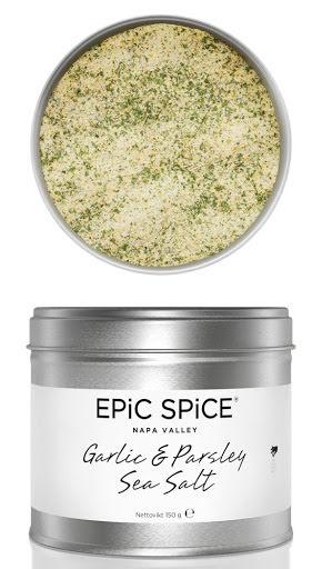Garlic & Parsley Sea Salt - Epic Spice