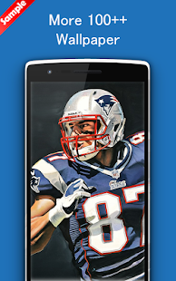 Rob Gronkowski Wallpaper Art NFL