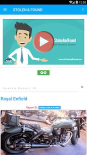 StolenAndFound.com - náhled