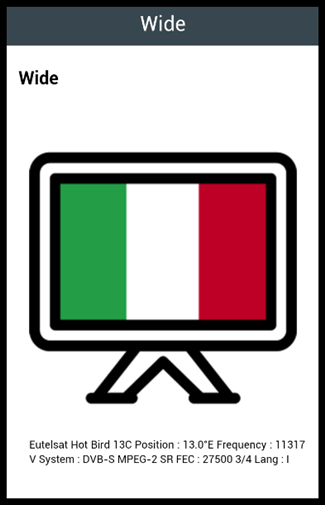 Italian TV Channels 1.0 screenshots 2