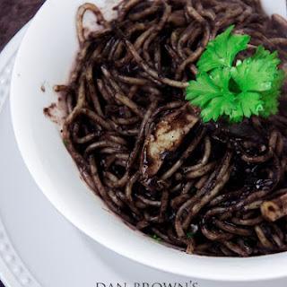 Dan Brown's Inferno; Spaghetti al nero di seppia (Seppie al nero)