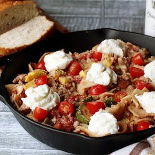 Summer Veggie Skillet Lasagna