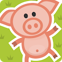 Wiggly Pig: Fun Walking Simulator icon