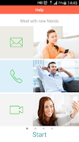 Screenshot of MatchAndTalk Friends