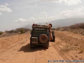 Photo: Ze South Horr to Loyangalani - jezero Turkana / From South Horr to Loyangalani - Lake Turkana