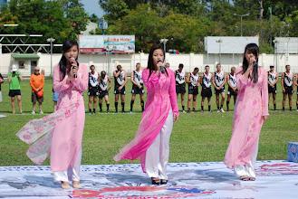 Photo: The Vietnamese National Anthem. Photo, Richard Quinn.