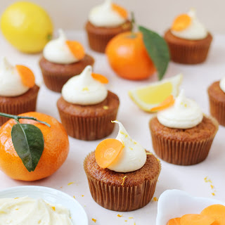 Orange and Carrot Cupcakes with Citrus Cream Cheese Icing Recipe