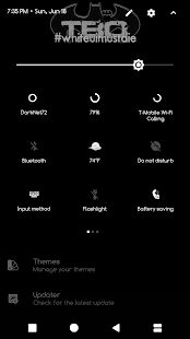 Sprite Substratum Theme Android O and P Screenshot