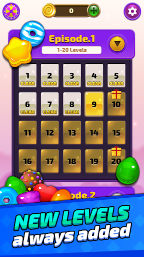 Sugar Land - Sweet Match 3 Puzzle 1061 screenshots 1