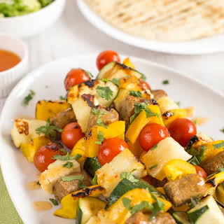 Take Your Memorial Day BBQ to the Next Level With Sweet Chili Halloumi Skewers.