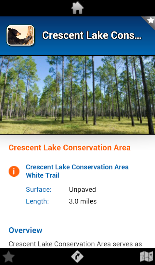 Volusia County Parks & Trails- screenshot