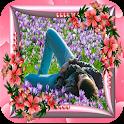 Bonitos marcos florales icon