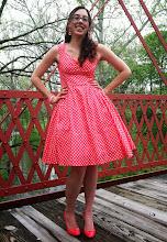 Photo: Vintage-Inspired Dress (Custom Ordered)