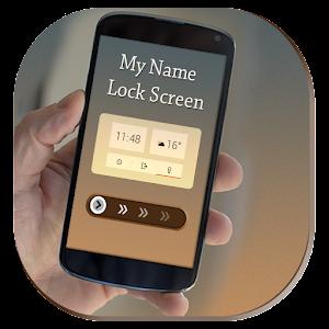 Name Lock Screen Passcode 1.0
