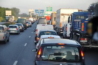 Photo: V dopravní zácpě jsme ale dlouho nezůstali.
