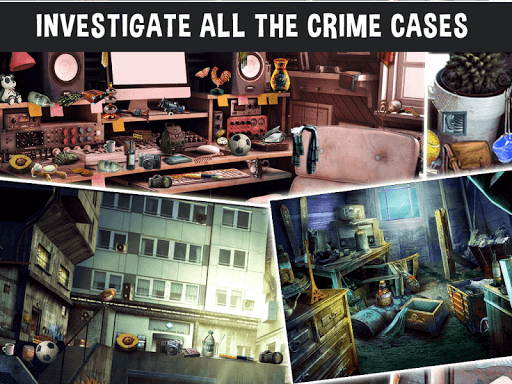 Télécharger Crime Case : Hidden Object Games - Murder Mystery APK MOD (Astuce) screenshots 1