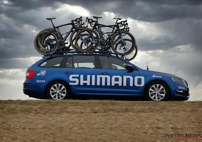 Shimano gaat alle renners ondersteunen in koersen van ASO: Deceuninck-Quick.Step en Ineos reageren al positief