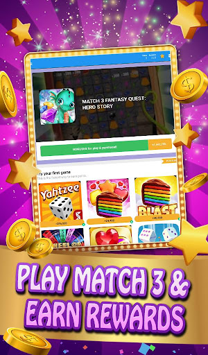 Screenshot for Match 3 App Rewards: Daily Game Rewards in United States Play Store