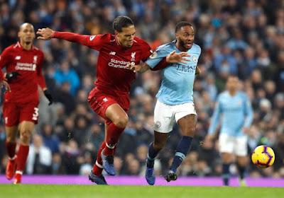 Liverpool en Manchester City maken er spannende strijd van in Premier League