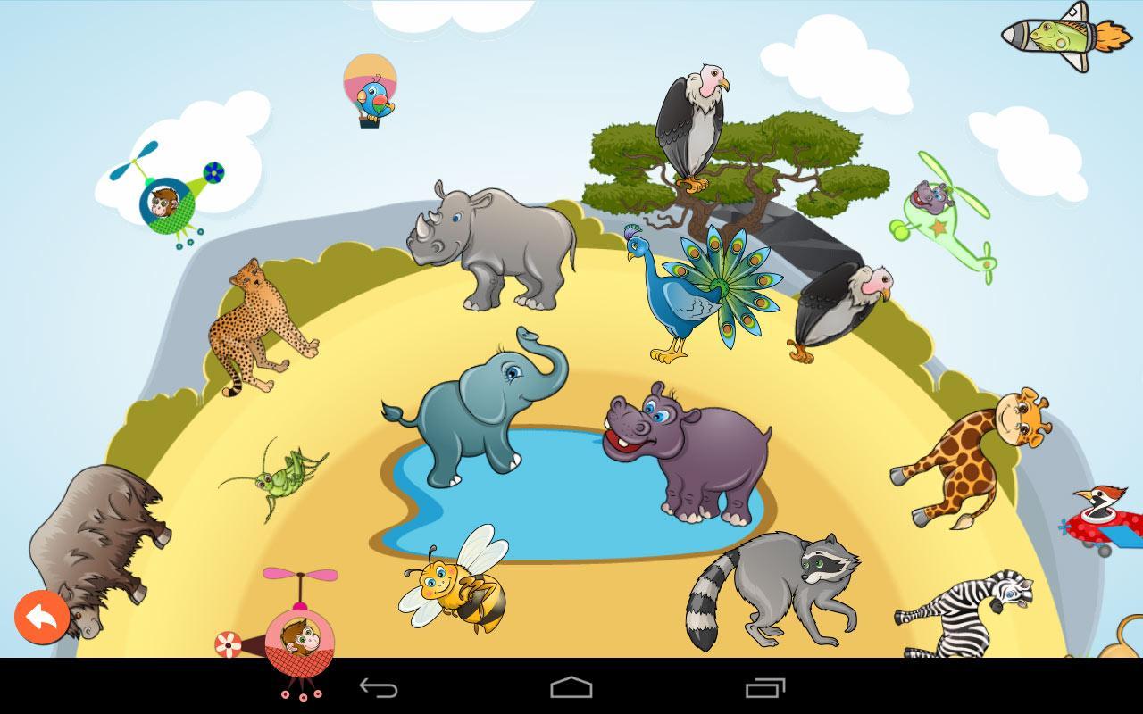 Hewan Puzzle Gratis Untuk Anak Apl Android Di Google Play