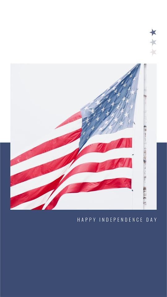 Happy Independence Day - Facebook Story Template