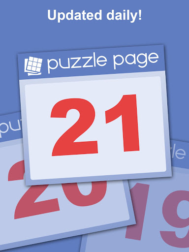 Puzzle Page - Crossword, Sudoku, Picross and more screenshots 18