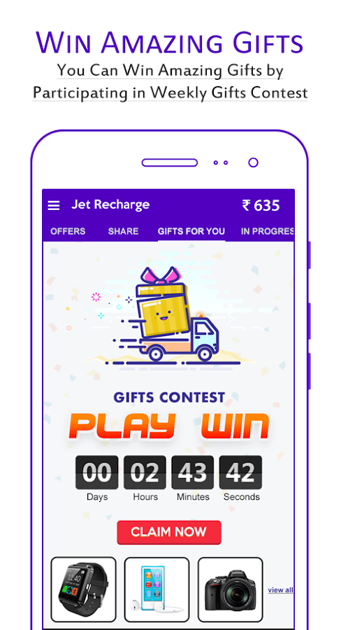 Jet Recharge® Free Recharge- screenshot