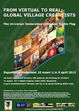 Photo: Now the HR Flag travel to Holland for 3 exhibitions: Dronten, Maastricht and Alkmaar.