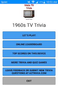 1960s TV Trivia - náhled