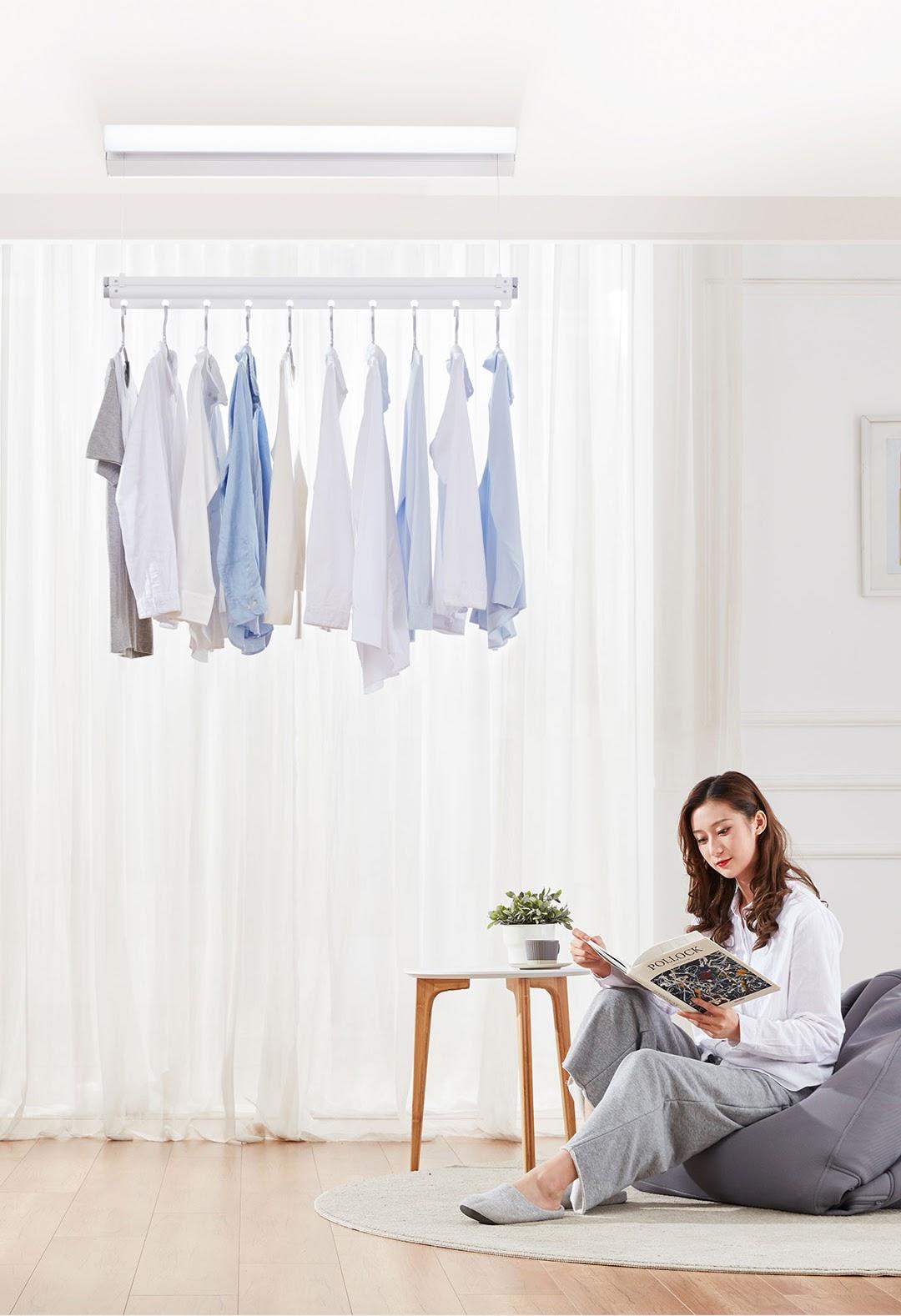 Giá phơi quần áo tự động trong nhà Mr.Bond M0