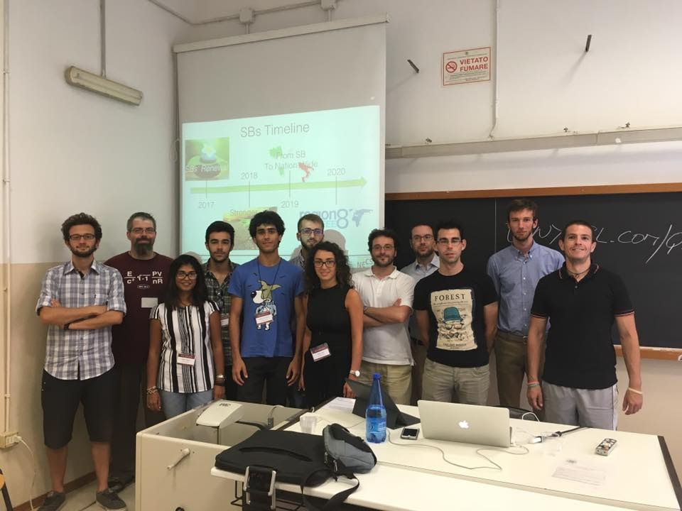 Rappresentanti Student Branch IEEE all'RTSI 2016