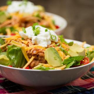 Shredded Chicken Taco Salad Recipes
