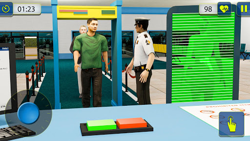 Airport Security Simulator - Border Patrol Game 1.1 screenshots 3