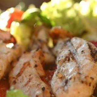 Accidental Grilled Chicken Salad