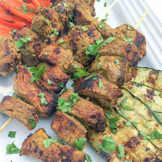 Indian Spiced Beef Kabobs