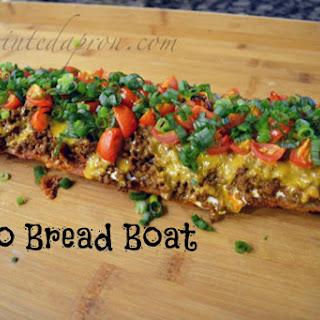 Taco Bread Boat.
