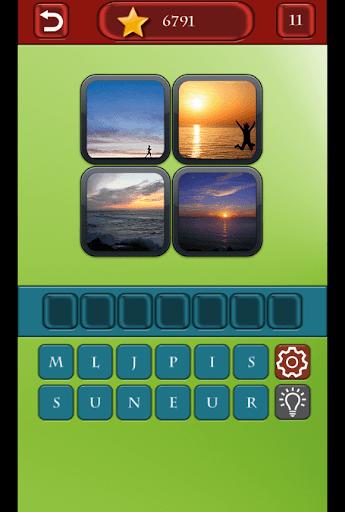 玩免費拼字APP|下載4 Pics 1 Word app不用錢|硬是要APP