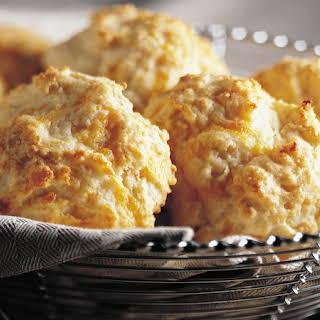 Cheese-Garlic Biscuits.