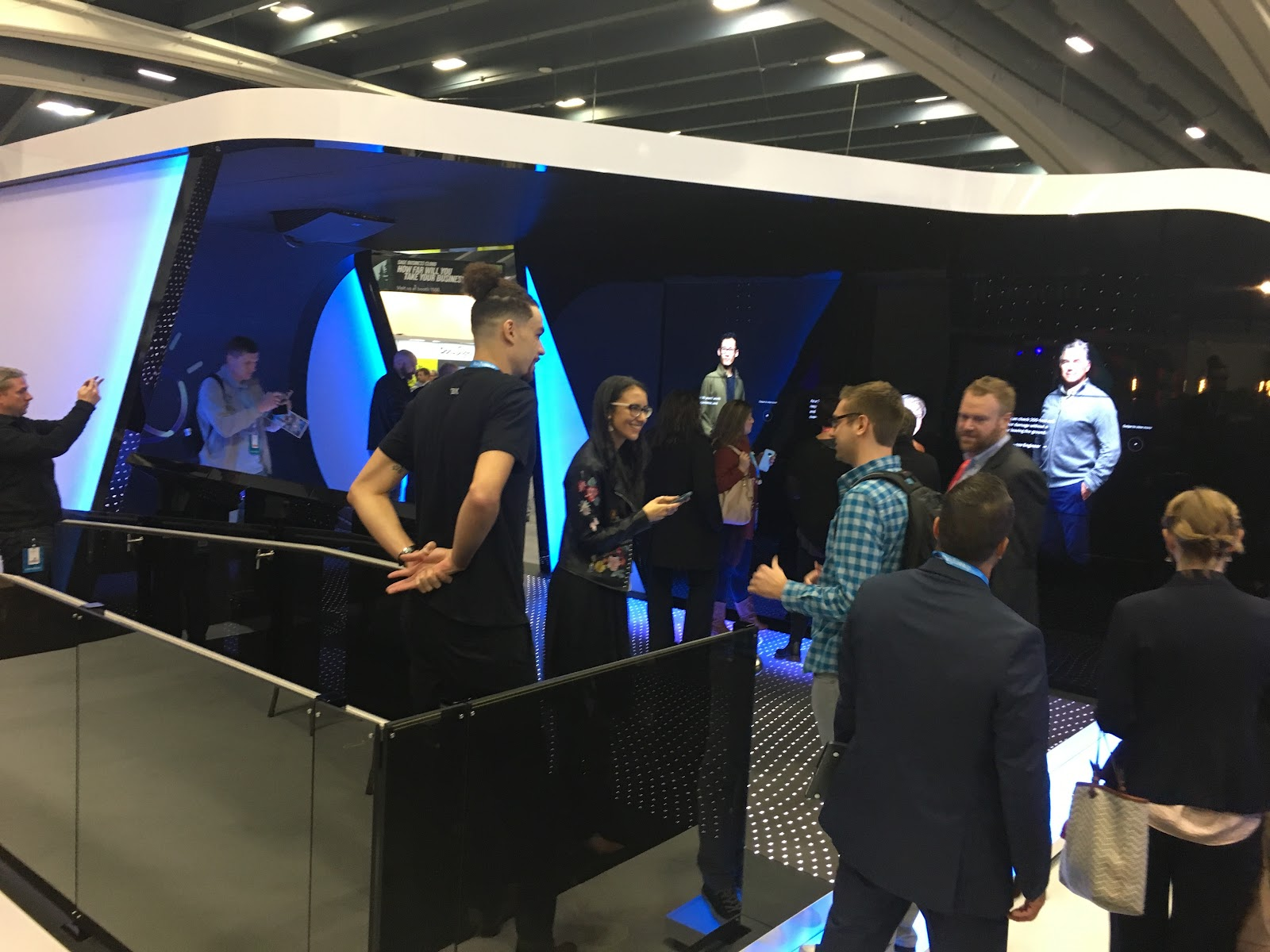 IBM:Bluewolf booth at Dreamforce 2017
