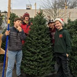 Image result for boy scout tree lot pictures