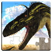 Dinosaurs Jigsaw Puzzles Games - Kids & Adults