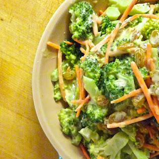 Creamy Bacon Cheddar Broccoli Salad.