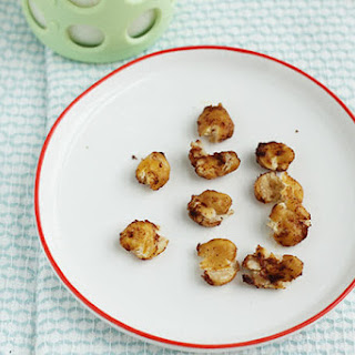 Soft Roasted Chickpeas with Cinnamon.