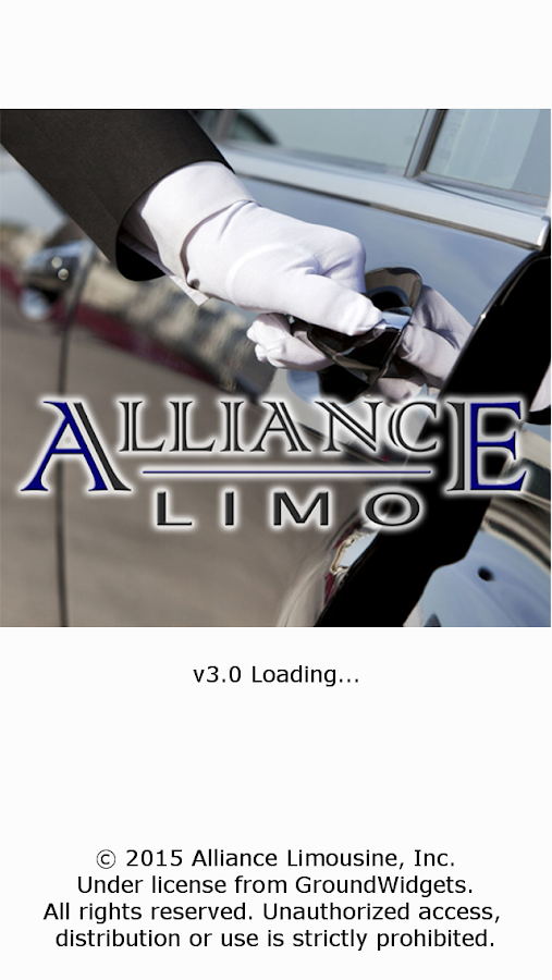 Alliance Limo Mobile- screenshot