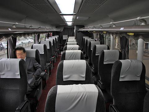 四国高速バス「黒潮エクスプレス」 2976 車内