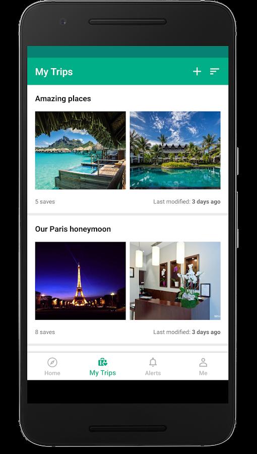 Aplikacija TripAdvisor