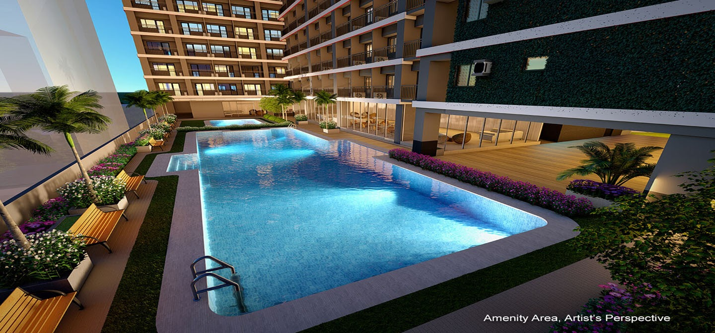 Red Residences, Chino Roces, Makati pool
