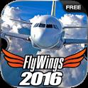 Flight Simulator 2016 FlyWings Free icon